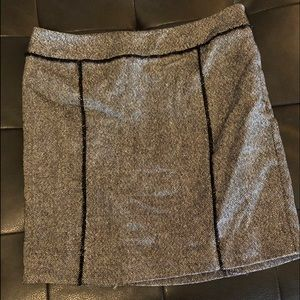 Sparkle skirt.